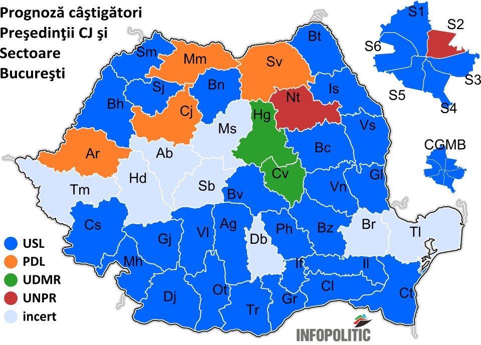 Amr 10 Harta Politica A Romaniei Inainte De Alegeri Radu Tudor