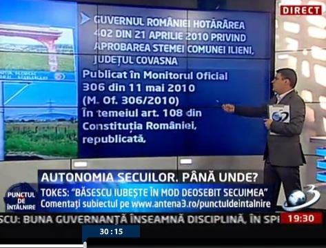 Radu Tudor Victor Roncea Dan Tanasa Ilieni Emil Boc Blaga