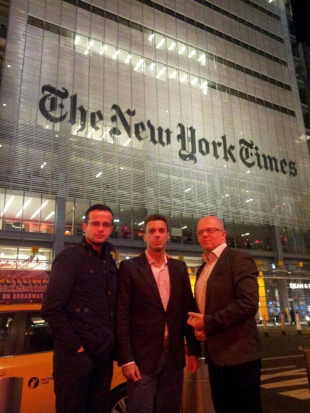 Gadea, Badea, Ursu la New York Times