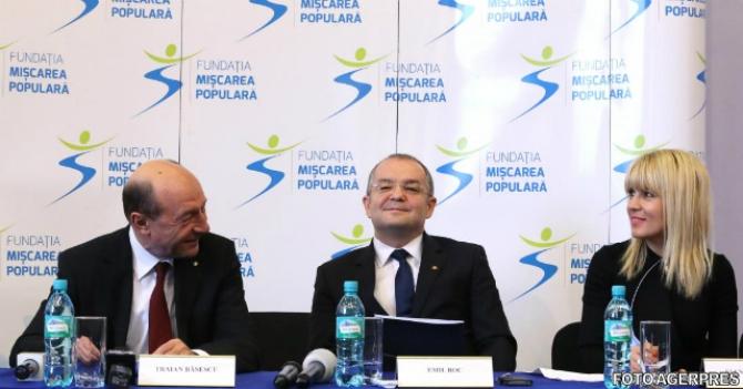 Băsescu-Boc-Udrea-PMP
