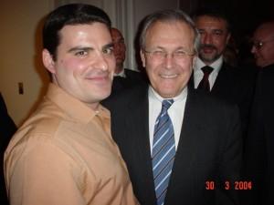 RT cu Donald Rumsfeld, Secretarul Apararii SUA