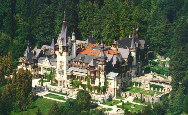 castelul peles, turism in romania