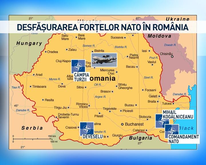WALL ROMANIA NATO