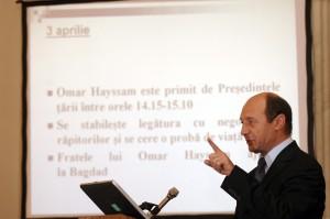 omar hayssam este primit de presedintele romaniei