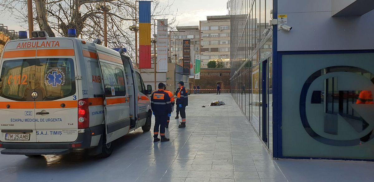 Sinucidere Socanta : Fostul Sef DNA Timisoara S-a Aruncat